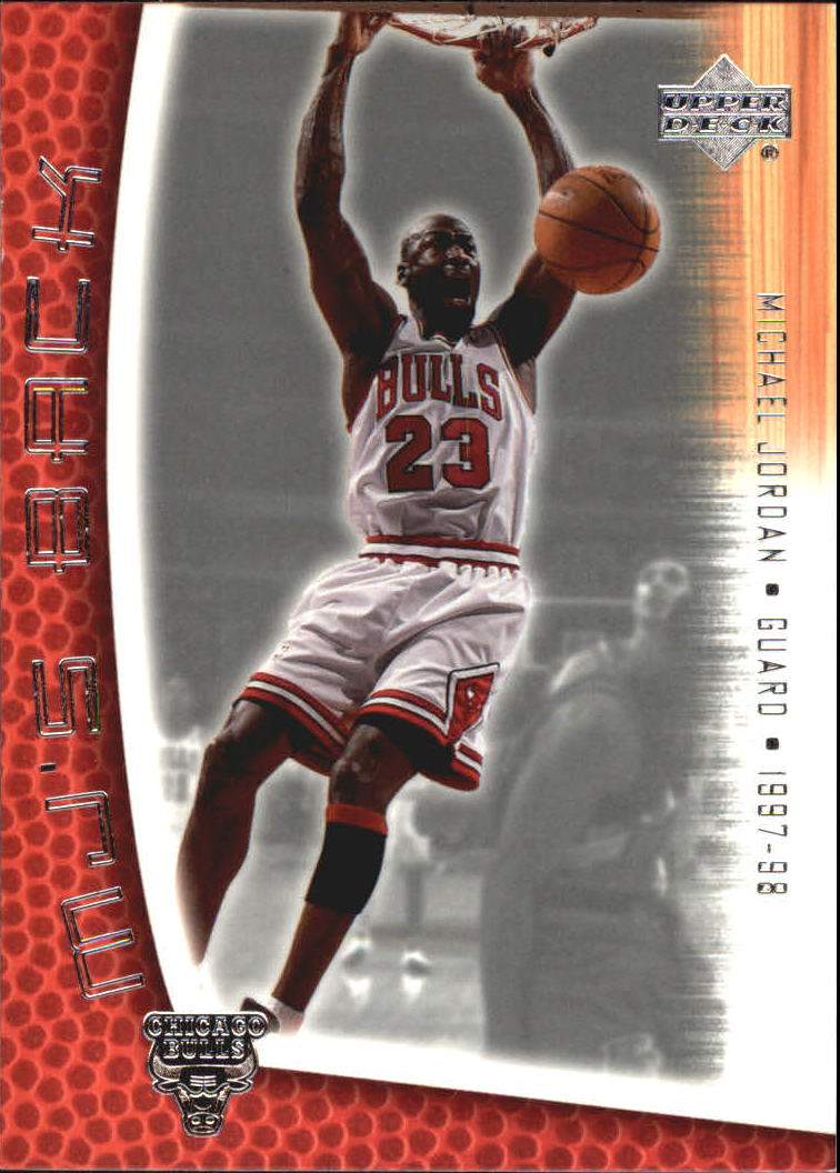 2001-02 Upper Deck MJ's Back #MJ23 Michael Jordan/Bullet Points/Bio