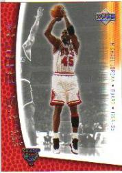 2001-02 Upper Deck MJ's Back #MJ34 Michael Jordan/Bullet Points/Bio