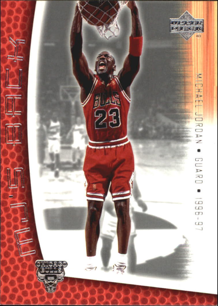 2001-02 Upper Deck MJ's Back #MJ41 Michael Jordan/Bullet Points/Bio