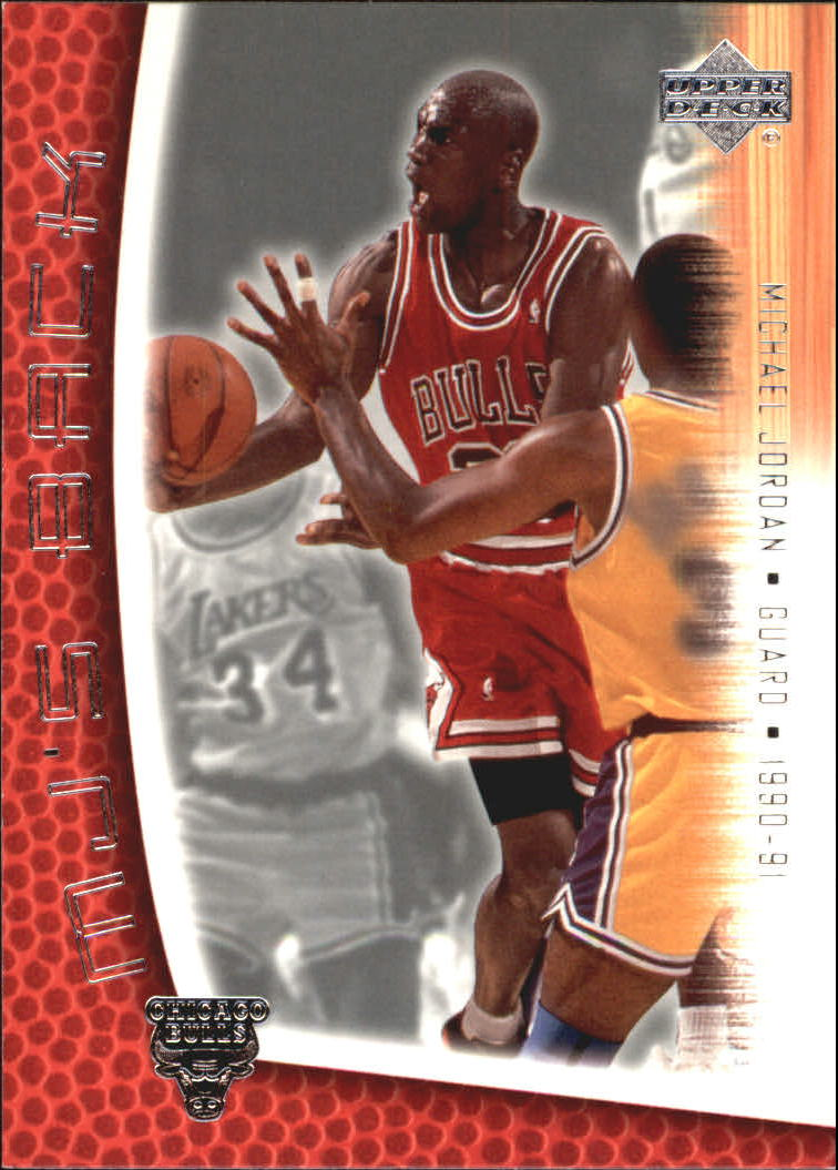 2001-02 Upper Deck MJ's Back #MJ52 Michael Jordan/Bullet Points/Bio