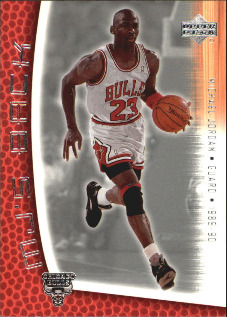 2001-02 Upper Deck MJ's Back #MJ55 Michael Jordan/Bullet Points/Bio