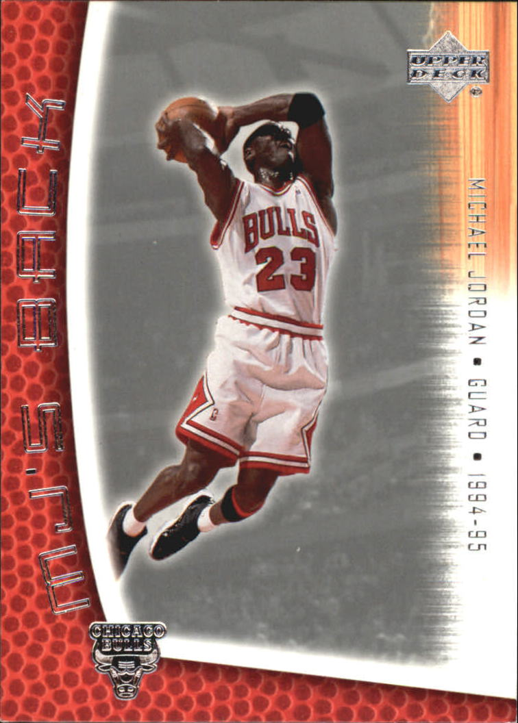 2001-02 Upper Deck MJ's Back #MJ74 Michael Jordan/Bullet Points/Bio