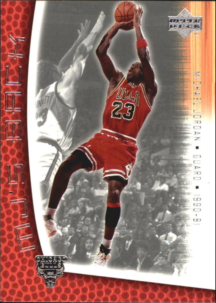 2001-02 Upper Deck MJ's Back #MJ80 Michael Jordan/Bullet Points/Bio