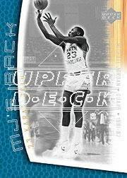 2001-02 Upper Deck MJ's Back #MJ84 Michael Jordan/Bullet Points/Bio