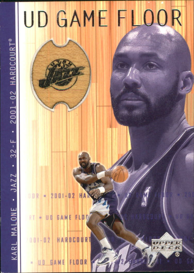 2001-02 Upper Deck Hardcourt UD Game Floor #KM Karl Malone