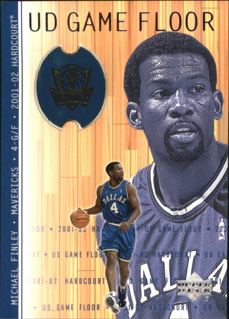 2001-02 Upper Deck Hardcourt UD Game Floor #MF Michael Finley