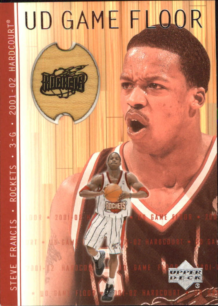 2001-02 Upper Deck Hardcourt UD Game Floor #SF Steve Francis