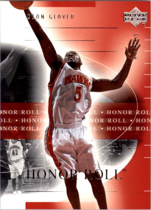 2001-02 Upper Deck Honor Roll #3 Dion Glover