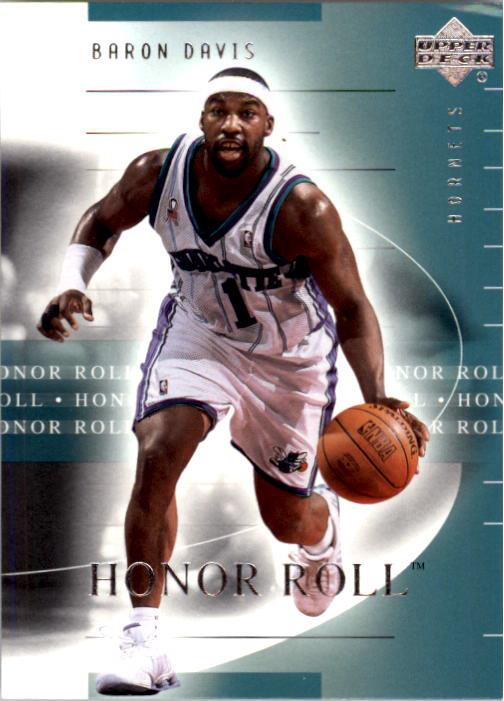 2001-02 Upper Deck Honor Roll #7 Baron Davis