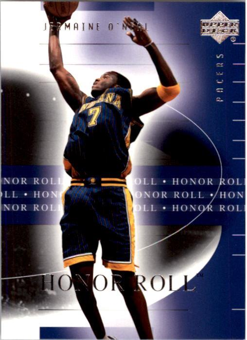 2001-02 Upper Deck Honor Roll #33 Jermaine O'Neal