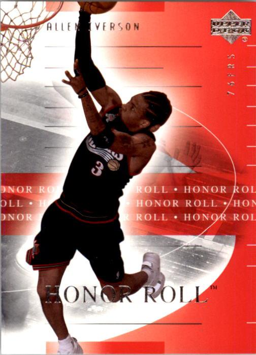 2001-02 Upper Deck Honor Roll #64 Allen Iverson