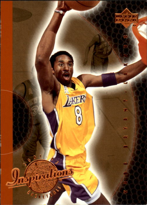 2001-02 Upper Deck Inspirations #38 Kobe Bryant