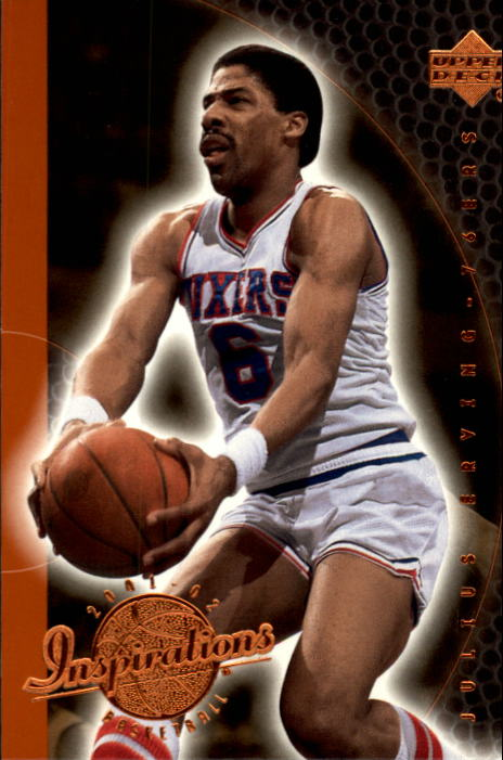 2001-02 Upper Deck Inspirations #66 Julius Erving