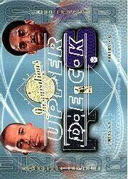 2001-02 Upper Deck Inspirations #138 Kobe Bryant JSY/Richard Jefferson JSY RC