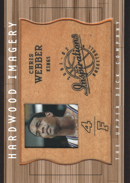2001-02 Upper Deck Inspirations Hardwood Imagery #CW Chris Webber