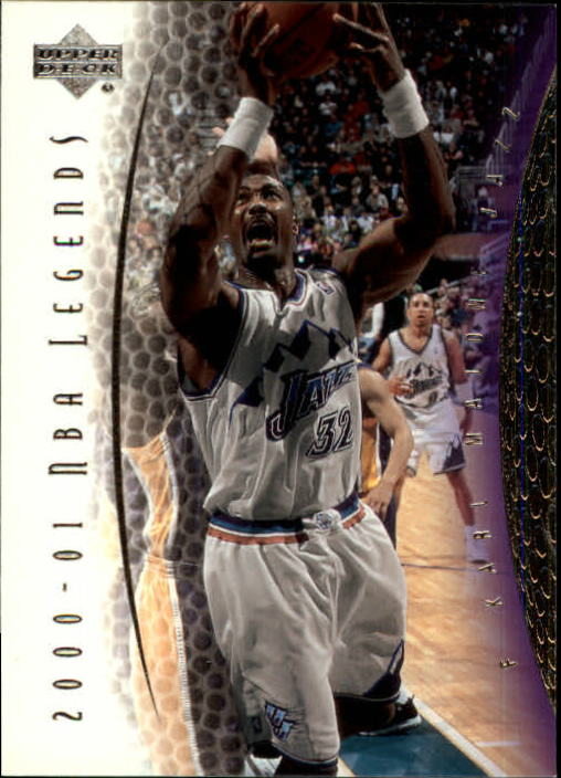 2001-02 Upper Deck Legends #3 Karl Malone