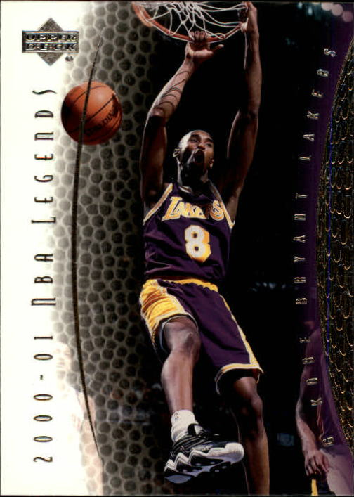 2001-02 Upper Deck Legends #8 Kobe Bryant