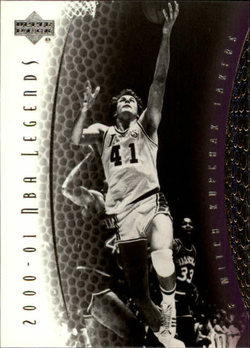 2001-02 Upper Deck Legends #10 Mitch Kupchak