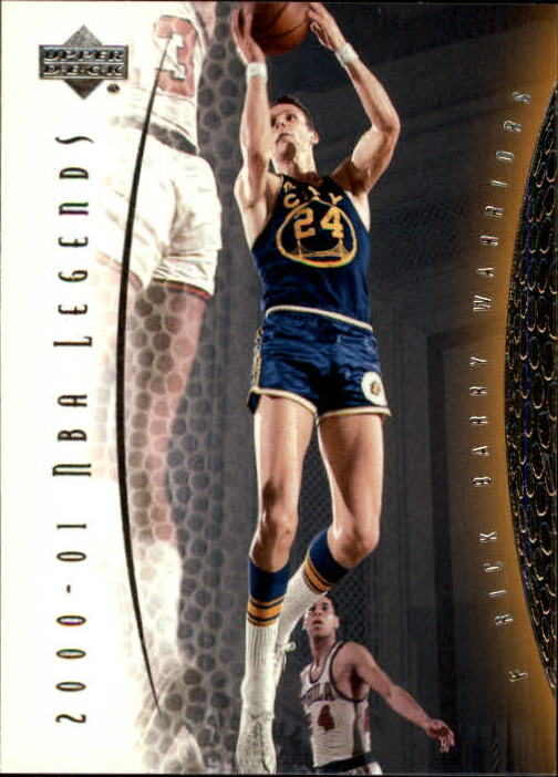 2001-02 Upper Deck Legends #12 Rick Barry