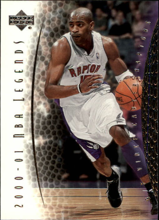 2001-02 Upper Deck Legends #15 Vince Carter