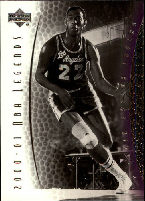 2001-02 Upper Deck Legends #18 Elgin Baylor