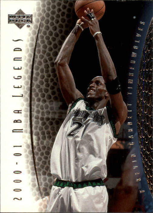 2001-02 Upper Deck Legends #21 Kevin Garnett