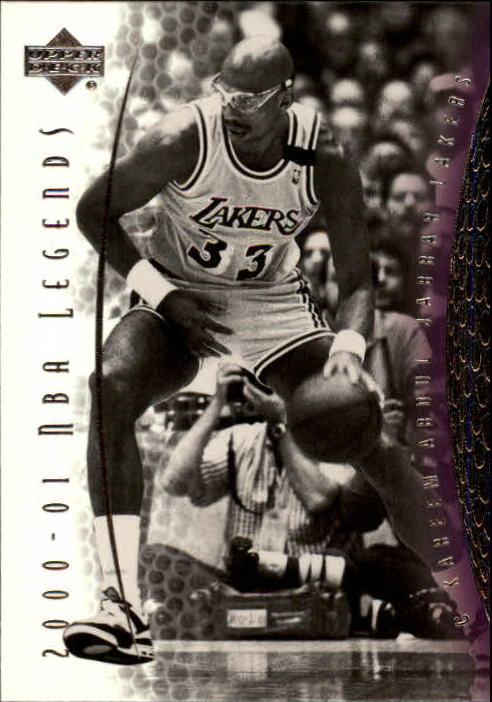 2001-02 Upper Deck Legends #25 Kareem Abdul-Jabbar