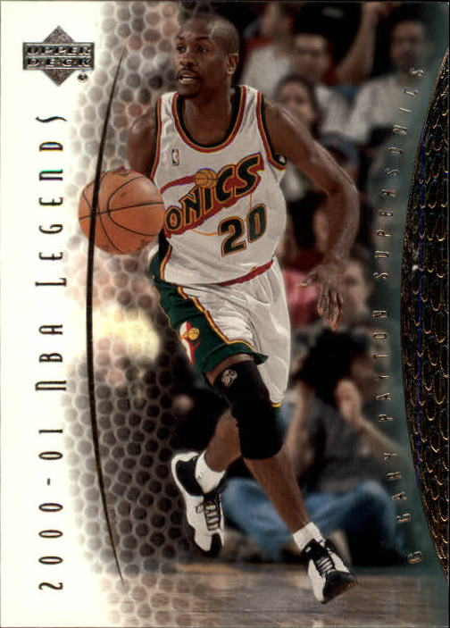 2001-02 Upper Deck Legends #30 Gary Payton