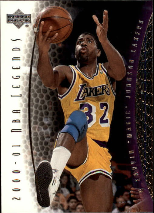 2001-02 Upper Deck Legends #32 Magic Johnson