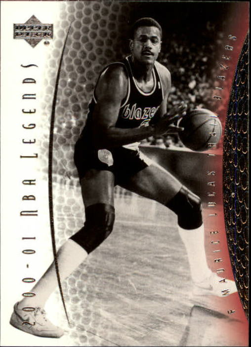 2001-02 Upper Deck Legends #34 Maurice Lucas