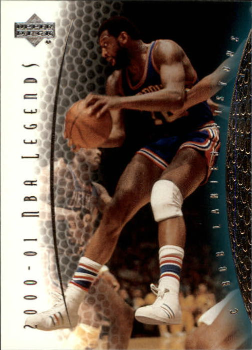 2001-02 Upper Deck Legends #38 Bob Lanier