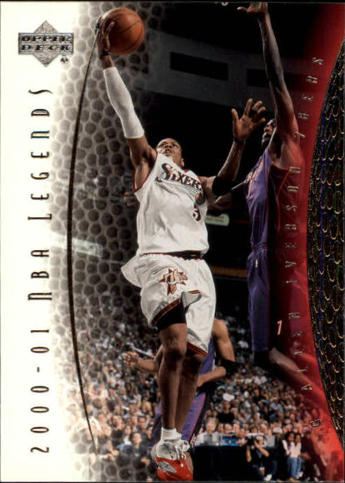 2001-02 Upper Deck Legends #40 Allen Iverson