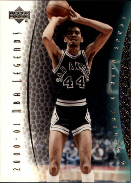 2001-02 Upper Deck Legends #44 George Gervin