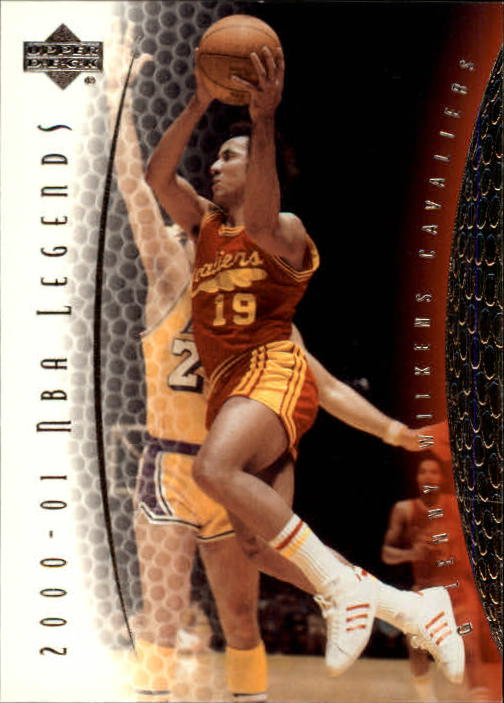 2001-02 Upper Deck Legends #46 Lenny Wilkens