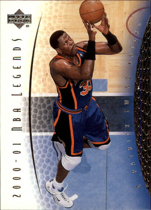 2001-02 Upper Deck Legends #63 Patrick Ewing