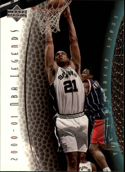 2001-02 Upper Deck Legends #65 Tim Duncan