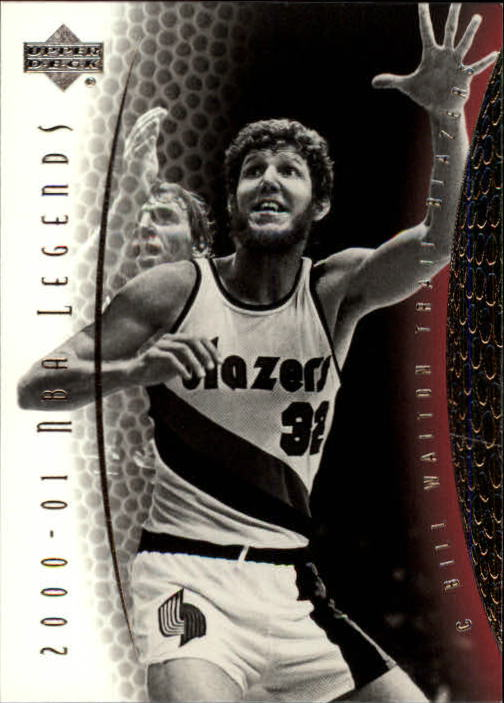 2001-02 Upper Deck Legends #77 Bill Walton