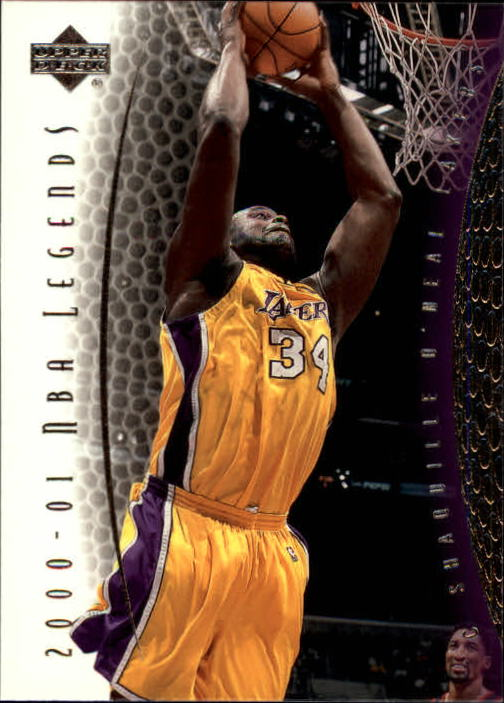2001-02 Upper Deck Legends #81 Shaquille O'Neal