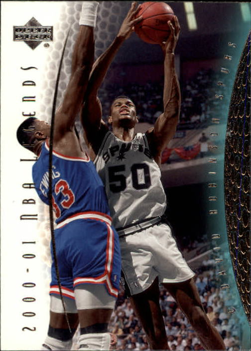 2001-02 Upper Deck Legends #90 David Robinson