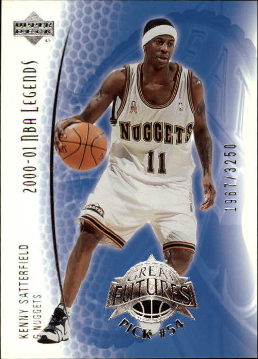 2001-02 Upper Deck Legends #94 Kenny Satterfield RC