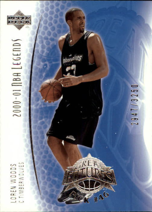 2001-02 Upper Deck Legends #104 Loren Woods RC