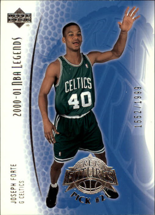 2001-02 Upper Deck Legends #112 Joseph Forte RC