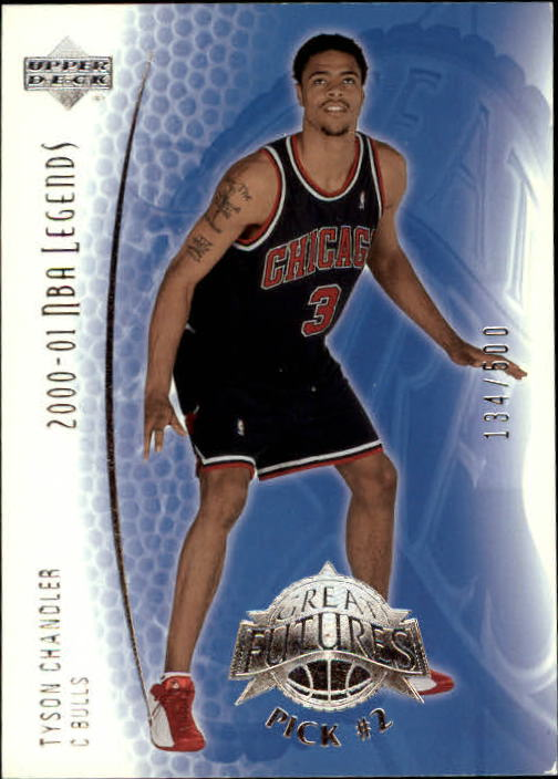 2001-02 Upper Deck Legends #131 Tyson Chandler RC