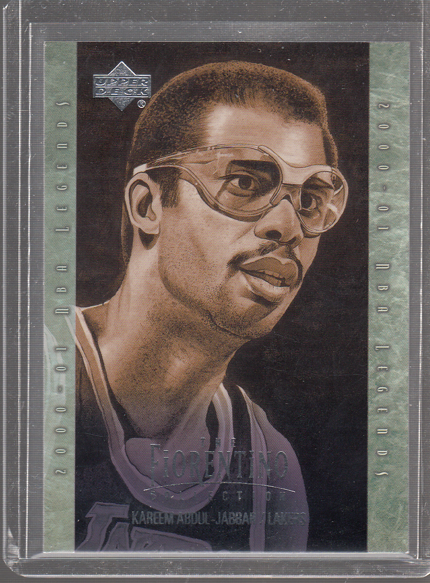 2001-02 Upper Deck Legends Fiorentino Collection #F9 Kareem Abdul-Jabbar