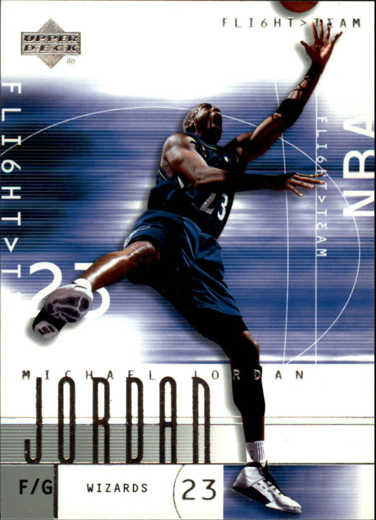 2001-02 Upper Deck Flight Team #1 Michael Jordan front image