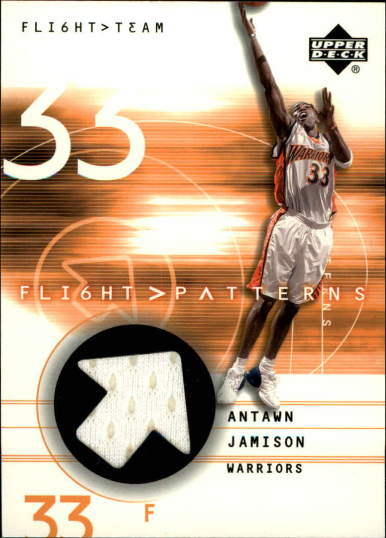 2001-02 Upper Deck Flight Team Flight Patterns #AJ Antawn Jamison