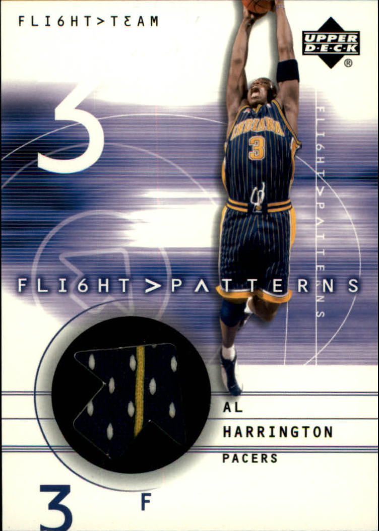 2001-02 Upper Deck Flight Team Flight Patterns #AL Al Harrington front image
