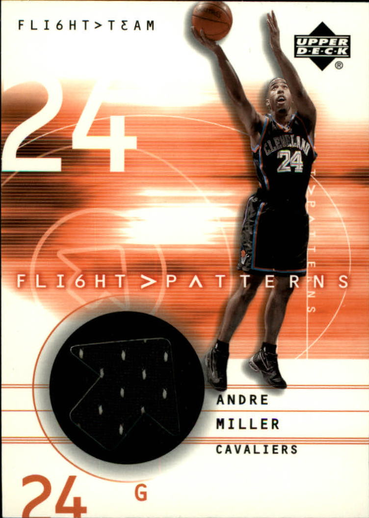 2001-02 Upper Deck Flight Team Flight Patterns #AM Andre Miller