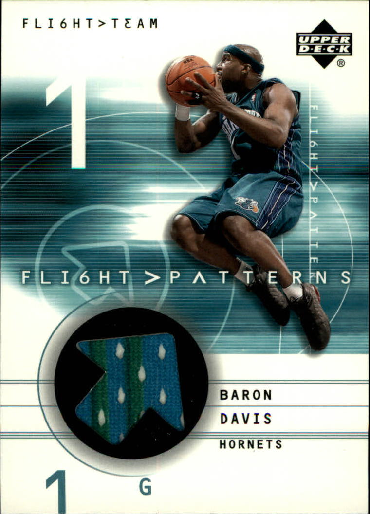 2001-02 Upper Deck Flight Team Flight Patterns #BD Baron Davis