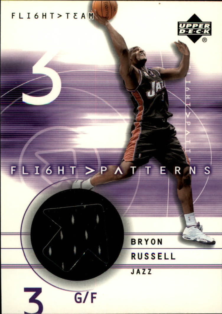 2001-02 Upper Deck Flight Team Flight Patterns #BR Bryon Russell